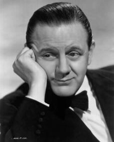 Naunton Wayne, well-known British actor who plays the role of Leslie, one of the club friends of of Henry Garnet (Basil Radford) in 'The Facts of Life', one of the four Somerset Maugham stories comprising 'Quartet', Sydney Box's new production for Gainsborough Pictures