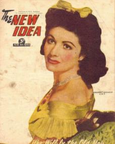 New Idea magazine with Margaret Lockwood.  20th February, 1946.  (Australian)