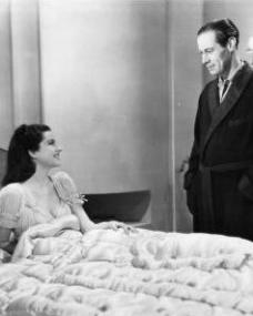 Margaret Lockwood (as Anna Bomasch) and Rex Harrison (as Gus Bennett) in a photograph from Night Train to Munich (1940) (5)