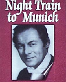 Rex Harrison (as Gus Bennett) in a video cover from Night Train to Munich (1940) (4)
