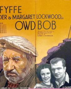 Will Fyffe (as Adam McAdam) in a poster for Owd Bob (1938) (1)