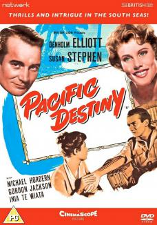 Pacific Destiny DVD from from Network and The British Film.  Features Denholm Elliott as Arthur Grimble and Susan Stephen as Olivia Grimble