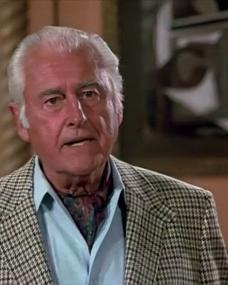Photo of the 1985 'Paint Me a Murder' episode of Murder, She Wrote (1984-1996) (1) featuring Stewart Granger
