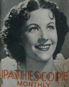 Pathescope Monthly magazine with Margaret Lockwood in The Case of Gabriel Perry.  August, 1939.