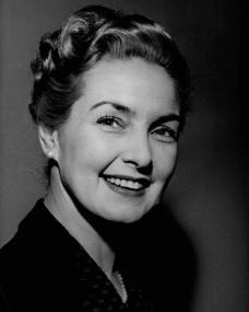 Miss Roc has been living and filming in France since her marriage to French cameraman Andre Thomas, in 1949; she has now returned to England, having separated from her husband.  Portrait study by Nick de Morgoli [mid-late 1950s?].