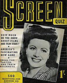 How much do you know about films and film stars?  America's fascinating new game.  Ideal for parties and train journeys.  500 questions and answers on British and Hollywood films.  A Pendulum Publication featuring Margaret Lockwood.