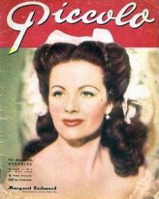 Piccolo magazine with Margaret Lockwood.  (Belgian)