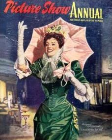 Picture Show Annual with Margaret Lockwood in Laughing Anne.  1954.