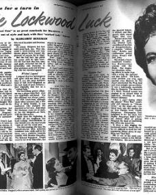 Picture Show magazine with Margaret Lockwood.  31st January, 1953.