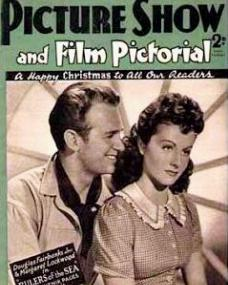 Picture Show and Film Pictorial magazine with Douglas Fairbanks, Jr, and  Margaret Lockwood in Rulers of the Sea.  30th December, 1939.  A happy Christmas to all our readers.