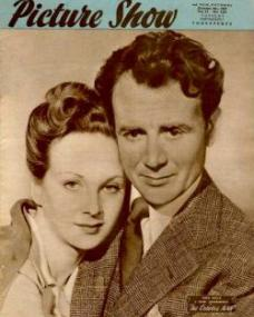 Picture Show magazine with Joan Greenwood and  John Mills in The October Man.  4th October, 1947.