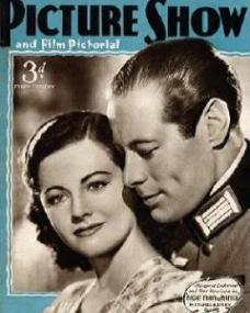Picture Show magazine with Margaret Lockwood and  Rex Harrison in Night Train to Munich.  31st August, 1940.