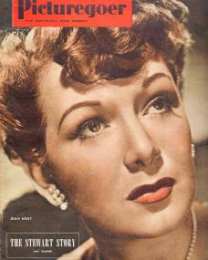 Picturegoer magazine with Jean Kent.  November 1950.