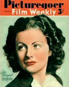 Picturegoer magazine with Margaret Lockwood.  April, 1941.