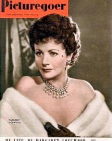 Picturegoer magazine with Margaret Lockwood.  March, 1950.  My life, by Margaret Lockwood.