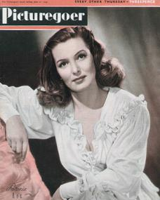 Picturegoer magazine with Patricia Roc.  June, 1947.