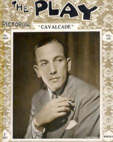 The Play Pictorial magazine with Noel Coward in Cavalcade.  Volume 59, issue number 357.