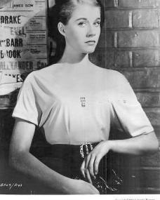 Julia Lockwood (as Jo Halliday) in a photograph from Please Turn Over (1959) (2)