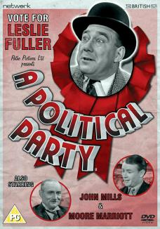 A Political Party DVD from Network and The British Film.  Features Leslie Fuller, Moore Marriott and John Mills.