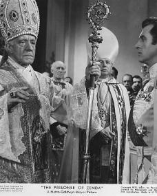 Stewart Granger (as Rudolf Rassendyll / King Rudolf V) in a photograph from The Prisoner of Zenda (1952) (3)