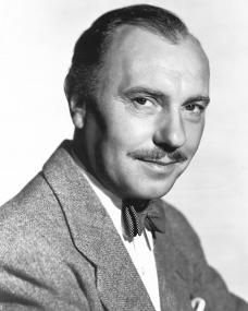 British stage and screen actor, Ralph Richardson