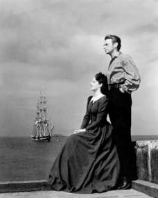 Margaret Lockwood (as Mary Shaw) and Douglas Fairbanks Jr (as David 'Davie' Gillespie) in a photograph from Rulers of the Sea (1939) (2)