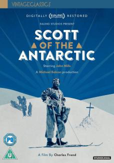 Scott of the Antarctic DVD from Studiocanal and Vintage Classics.  Features John Mills as Captain Scott