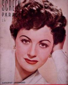 Screen Parade magazine with Margaret Lockwood.  March, 1951.  The favourite movie magazine.