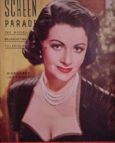 Screen Parade magazine with Margaret Lockwood in Trent's Last Case.  March, 1953.  The favourite movie magazine.