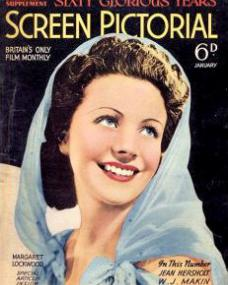 Screen Pictorial magazine with Margaret Lockwood.  January, 1939.