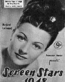 Screen Stars magazine with Margaret Lockwood.  1948.