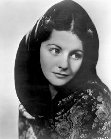 British ingenue Margaret Lockwood wears a shawl in this 1930s photograph