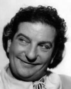 British comedian Sid Field as Sidcup Buttermeadow, who co-stars with Maggie Lockwood in Cardboard Cavalier