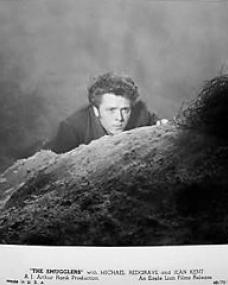 Richard Attenborough (as Francis Andrews) in a photograph from The Smugglers [The Man Within] (1947) (5)