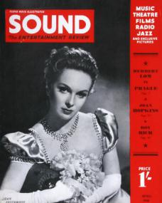 Sound magazine with Joan Greenwood.  April, 1948.  The Entertainment Review.