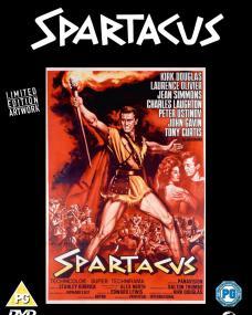Spartacus DVD – Original Poster Series featuring limited edition artwork with Kirk Douglas