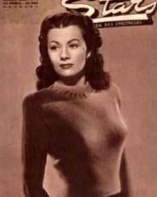 Stars magazine with Margaret Lockwood.  (French)