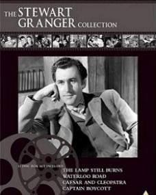 The Stewart Granger Collection DVD.  12 disc box set includes The Lamp Still Burns, Waterloo Road, Caesar and Cleopatra, and Captain Boycott.