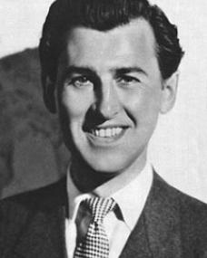 British actor Stewart Granger.  Dashing leading man of the 1940s who specialised in romantic leads and later during the 50s in big-game hunter roles.