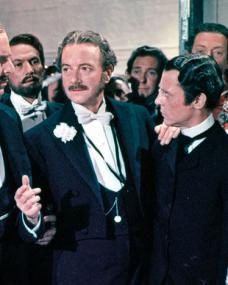 Photograph from The Story of Gilbert and Sullivan (1953) (1) featuring Robert Morley and Maurice Evans