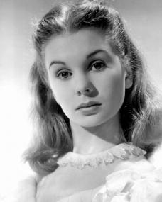 Jean Simmons (as Young Estella) in a photograph from Great Expectations (1946)