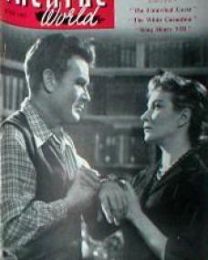 Theatre World magazine with John Mills and  Joan Greenwood in Cardboard Cavalier.  June, 1953.
