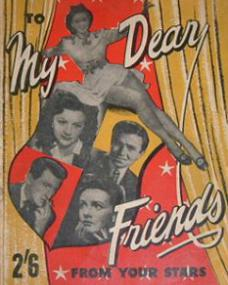 To My Dear Friends magazine with Margaret Lockwood.