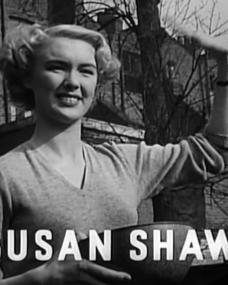 Main title from Train of Events (1949) featuring Susan Shaw