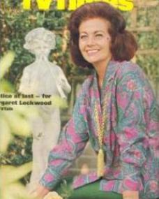 TV Times magazine with Margaret Lockwood in Justice is a Woman.  12th July, 1969.  Justice at last for Margaret Lockwood.