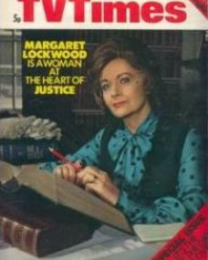 TV Times magazine with Margaret Lockwood in Justice.  3rd February, 1973.  Margaret Lockwood is a woman at the heart of justice.
