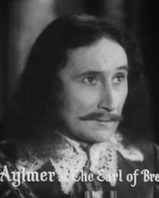 Main title from The Vicar of Bray (1937) (8).  Felix Aylmer as the Earl of Brendon