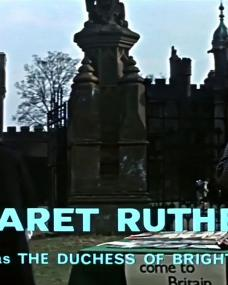 Main title from The VIPs (1963) (7). Margaret Rutherford as the Duchess of Brighton