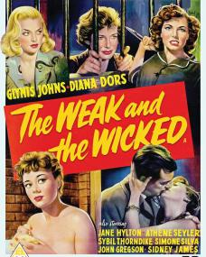 The Weak and the Wicked DVD from Network and The British Film.  Features Glynis Johns as Jean Raymond.
