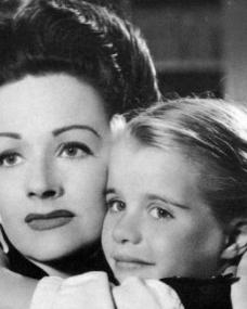 Margaret Lockwood (as Lucy) and Julia Lockwood (as Norey) in a photograph from The White Unicorn (1947) (1)